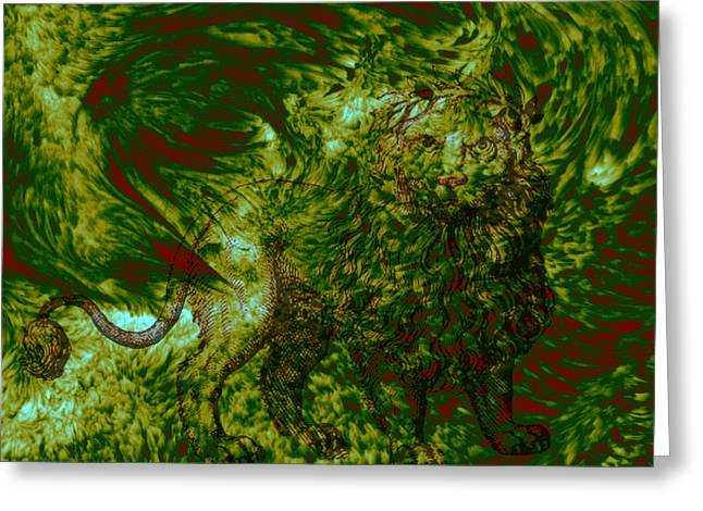 Digital Media Pastels Greeting Cards - Can you see me Greeting Card by Evelyn Patrick