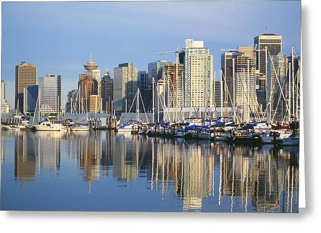 Ocean Art Photos Greeting Cards - Canada, Vancouver Greeting Card by Dana Edmunds - Printscapes