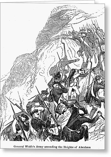 Bayonet Greeting Cards - Canada: Wolfes Expedition Greeting Card by Granger