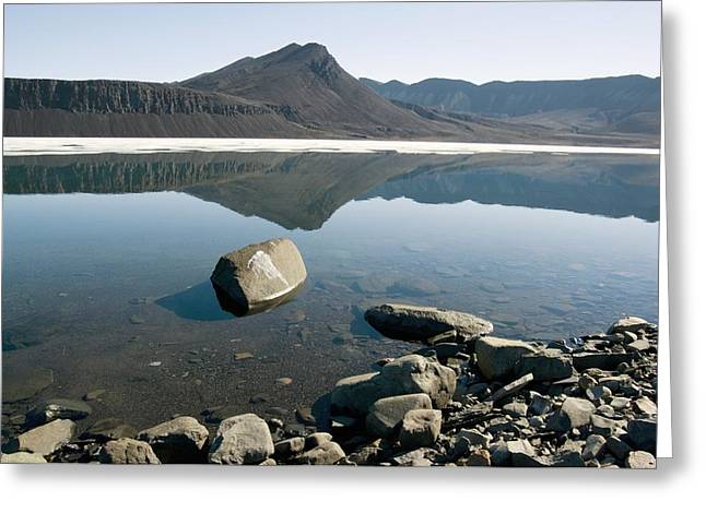 Axels Greeting Cards - Canadian Arctic Summer Greeting Card by Dr Juerg Alean