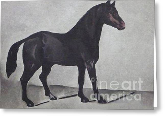 Canadian Heritage Paintings Greeting Cards - Canadian Heritage Horse 111 Greeting Card by Catherine Meyers