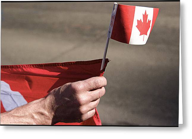 Jeremy Greeting Cards - Canadian Pride - I Believe Greeting Card by JM Photography