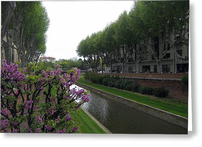 Midi Greeting Cards - Canal du Midi Greeting Card by Alexandre Lafreniere