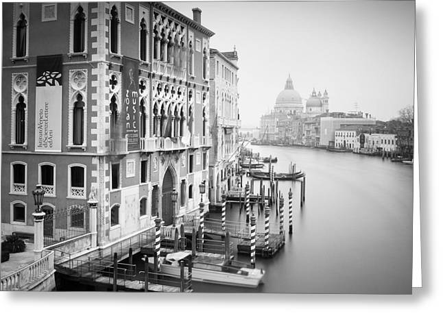 Grande Greeting Cards - Canal Grande Study I Greeting Card by Nina Papiorek