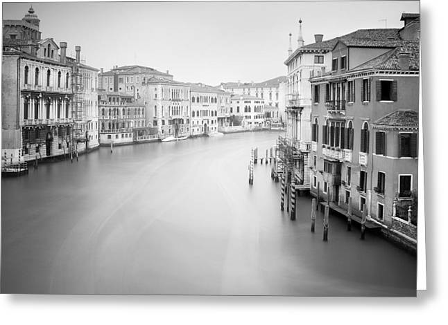 Canal Grande Greeting Cards - Canal Grande Study II Greeting Card by Nina Papiorek