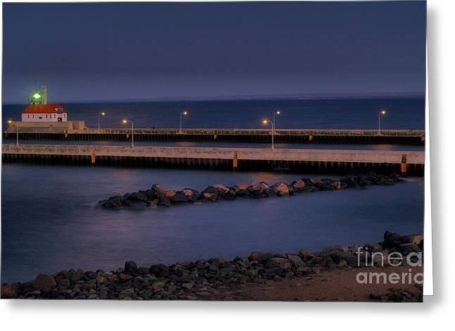Canal Park Greeting Cards - Canal Park Greeting Card by Jimmy Ostgard