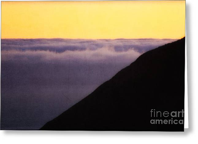 Sfo Greeting Cards - Canary Sunset Greeting Card by Doug Sturgess
