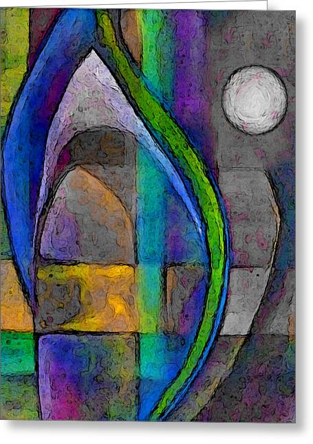Visionary Artist Greeting Cards - Candle in the Moonlight Greeting Card by George  Page