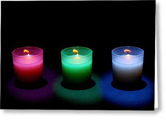 Candle Lit Greeting Cards - Candles Greeting Card by Cale Best