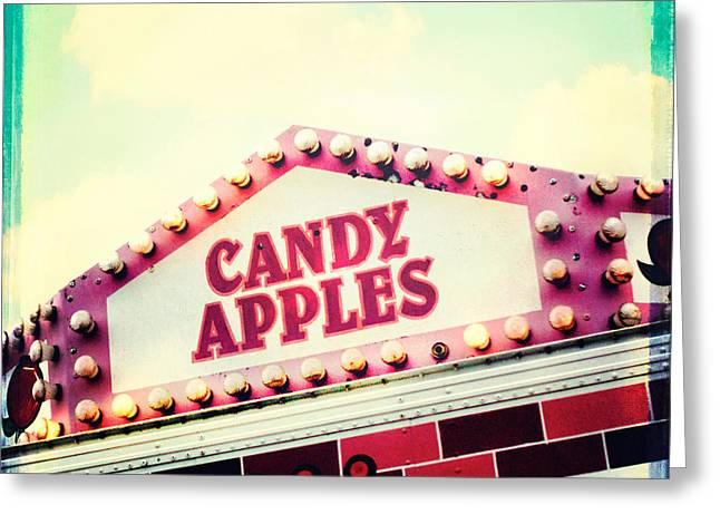 Candy Apples Greeting Cards - Candy Apples Greeting Card by Kim Fearheiley