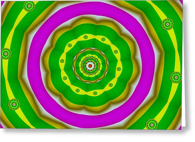 Digitalart Greeting Cards - Candy Colors Liberation Greeting Card by Pepita Selles