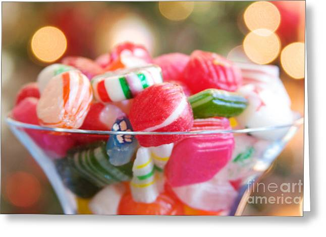Kim Fearheiley Photograph Greeting Cards - Candy Greeting Card by Kim Fearheiley
