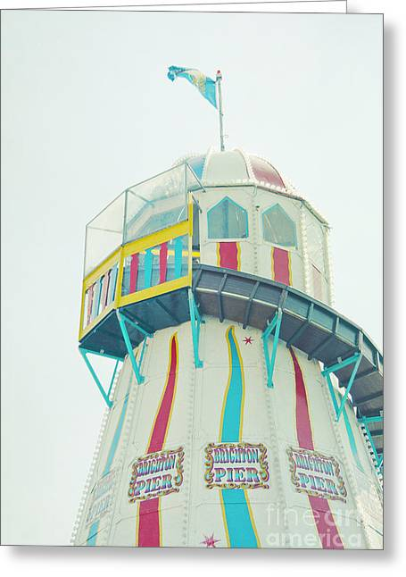 Helter-skelter Greeting Cards - Candy Greeting Card by Violet Gray