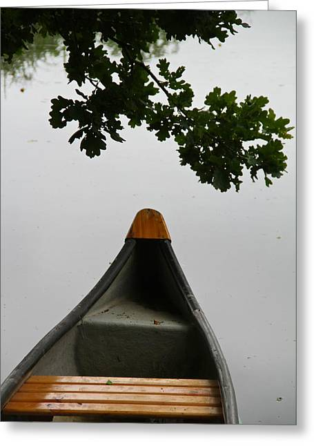 Canoe Greeting Cards - Canoe Too Greeting Card by Odd Jeppesen
