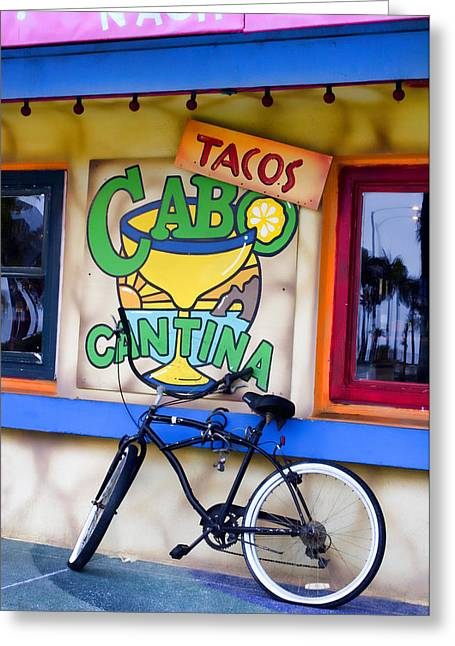 Food Digital Greeting Cards - Cantina Greeting Card by Carol Leigh
