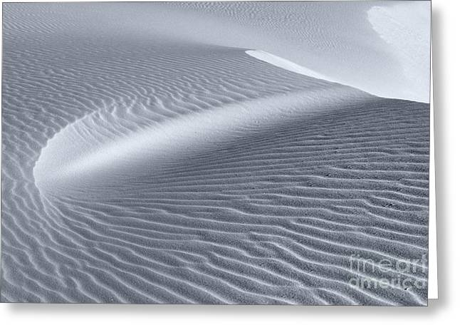 Sand Pattern Greeting Cards - Canvas of the Winds Greeting Card by Sandra Bronstein