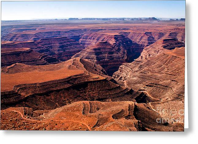 Haybale Greeting Cards - Canyonlands II Greeting Card by Robert Bales
