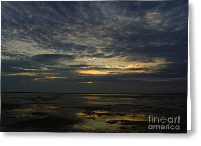First Sunset Greeting Cards - Cape Cod Encounter Beach Greeting Card by Juergen Roth