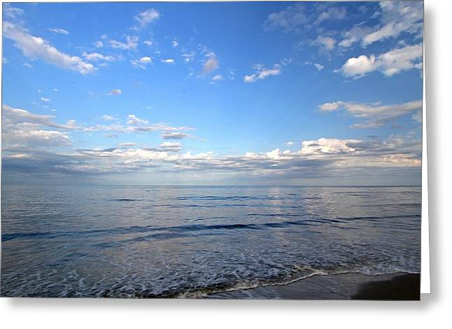 Marconi Beach Greeting Cards - Cape Cod Summer Sky Greeting Card by Juergen Roth