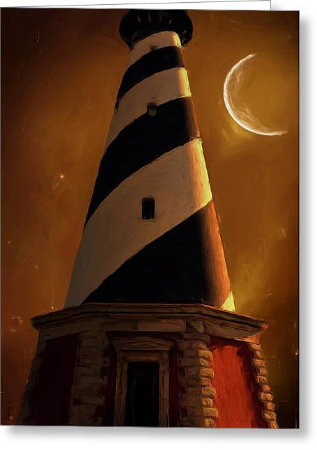 Cape Hatteras Greeting Cards - Cape Hatteras Greeting Card by Lourry Legarde