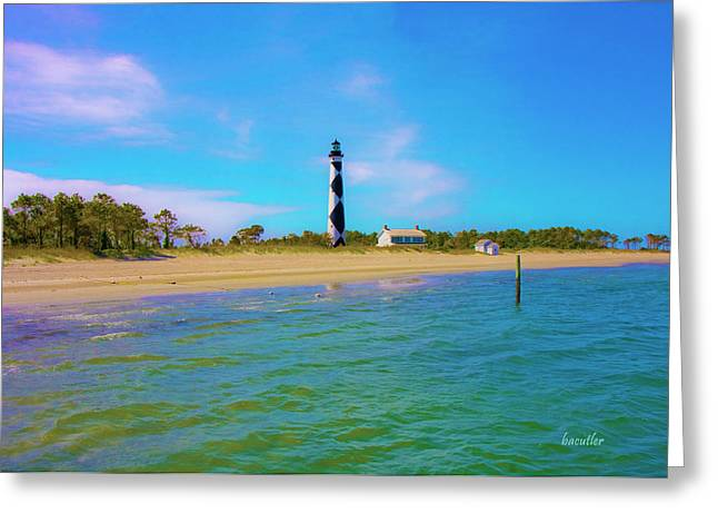 Cape Lookout 1 Greeting Card by Betsy A  Cutler