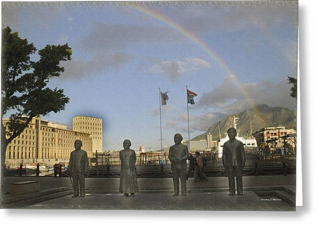 Cape Town Freedom South Africa Greeting Card by Jonathan Whichard
