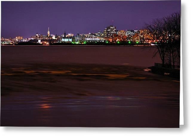 Ottawa Skyline Greeting Cards - Capital Skyline Greeting Card by Joshua McCullough