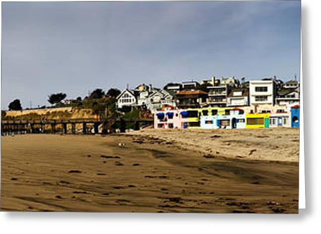 Capitola Greeting Cards - Capitola Beach and Pier Greeting Card by Joe  Palermo