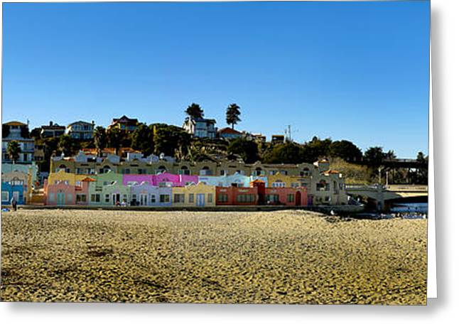 Capitola Greeting Cards - Capitola Beach Greeting Card by Joe  Palermo