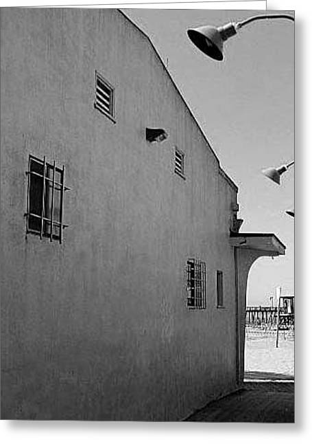 Village By The Sea Greeting Cards - Capitola Greeting Card by Brian Orion