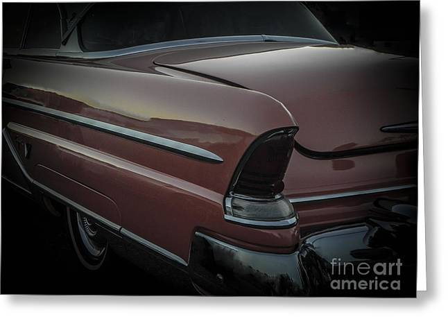 Tricked-out Cars Greeting Cards - Capri Greeting Card by Chuck Re