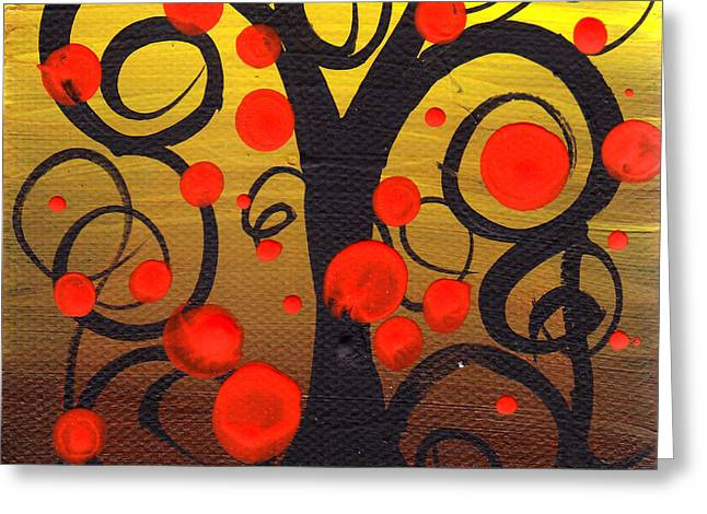 Abril Andrade Greeting Cards - Caprice Tree Greeting Card by  Abril Andrade Griffith