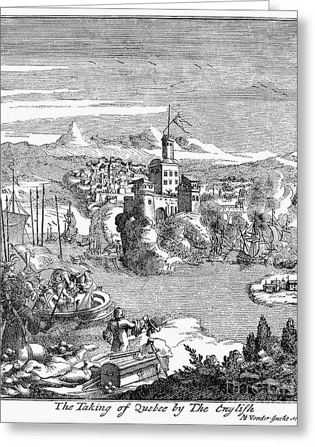 Hennepin Greeting Cards - Capture Of Quebec, Canada Greeting Card by Granger
