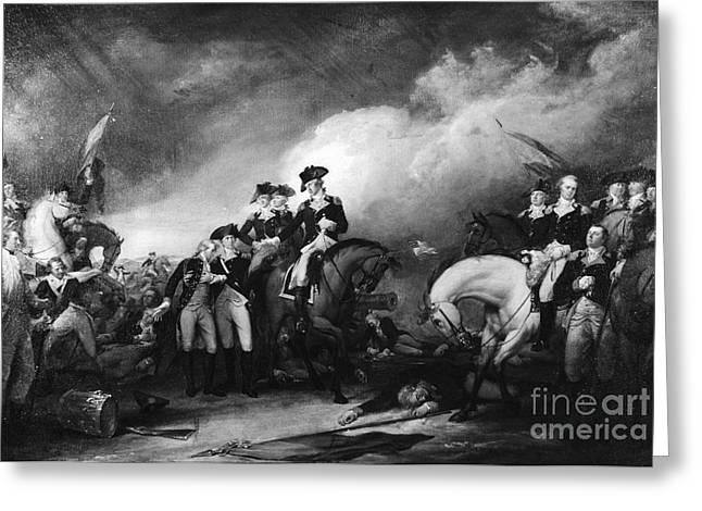 Battle Of Trenton Greeting Cards - Capture Of The Hessians At Trenton Greeting Card by Photo Researchers