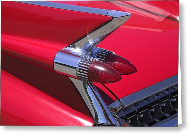 Reliefs Greeting Cards - Car detail Greeting Card by Garry Gay