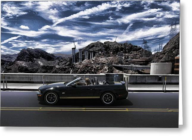 Bridges Greeting Cards - Car Greeting Card by Marco Moscadelli