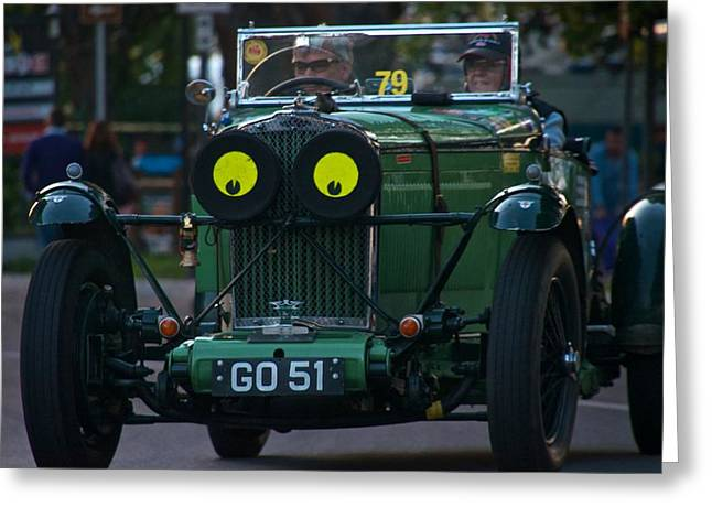 Jaguars Greeting Cards - Car No 79 Talbot AV 105 1931 Sport Greeting Card by Enrico Luciano