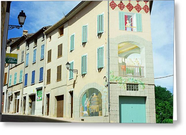 Provence Village Greeting Cards - Carces Corner II Greeting Card by Andrea Simon