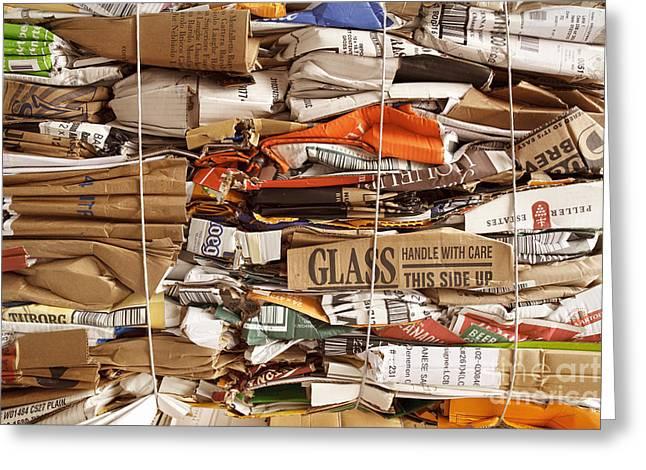 Cardboard Greeting Cards - Cardboard Bundle  Greeting Card by Igor Kislev