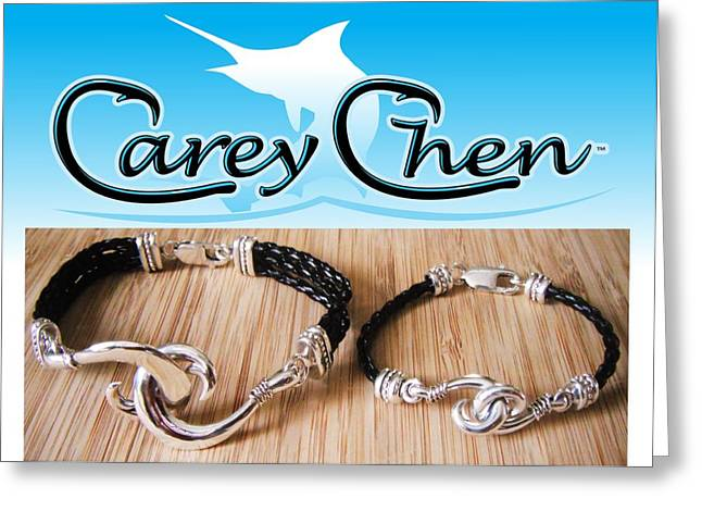 Carey Chen Jewelry Greeting Card by Carey Chen