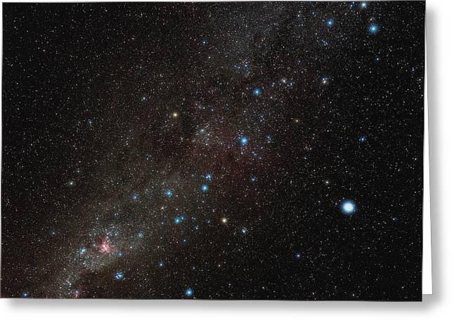 Carina Constellation Greeting Card by Eckhard Slawik
