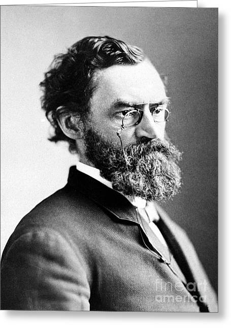 Carl Schurz (1829-1906) Greeting Card by Granger