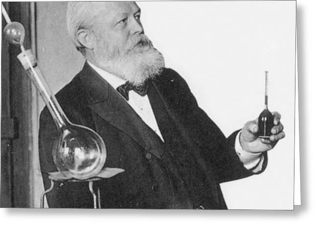 P-g Greeting Cards - Carl Von Linde, German Inventor Greeting Card by Science Source