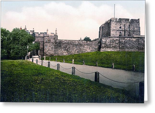 Carlisle Greeting Cards - Carlisle Castle - England Greeting Card by International  Images