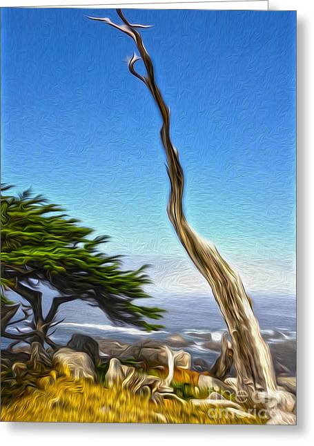 Gregory Dyer Greeting Cards - Carmel California - 02 Greeting Card by Gregory Dyer