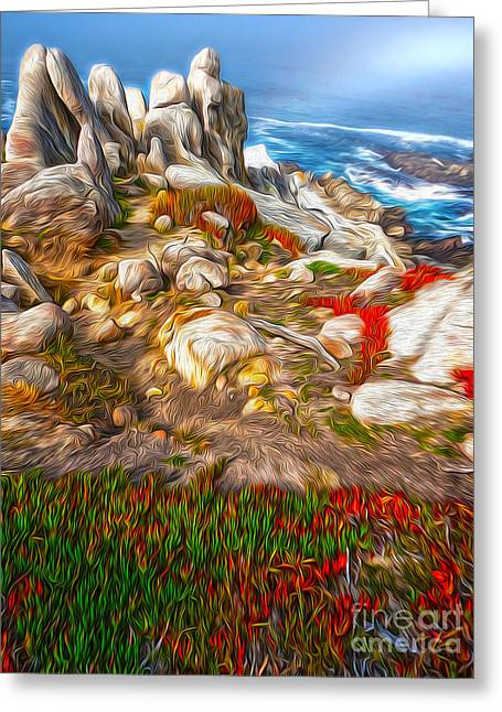 Gregory Dyer Greeting Cards - Carmel California - 06 Greeting Card by Gregory Dyer