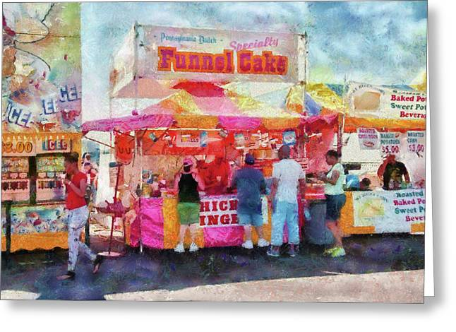 Present For You Greeting Cards - Carnival - The variety is endless Greeting Card by Mike Savad