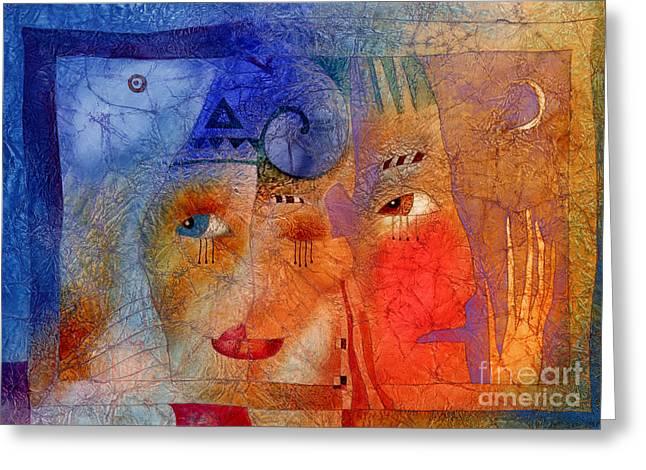 Carnivals Greeting Cards - Carnival 2 Greeting Card by Svetlana and Sabir Gadghievs