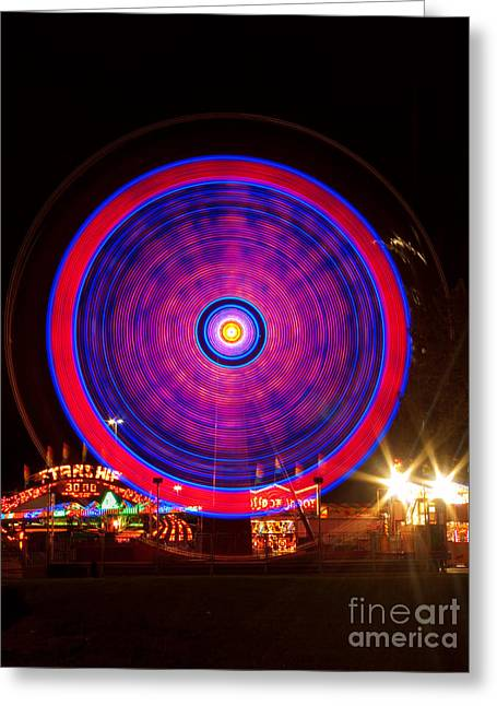 Lightning Photographs Greeting Cards - Carnival Hypnosis Greeting Card by James BO  Insogna
