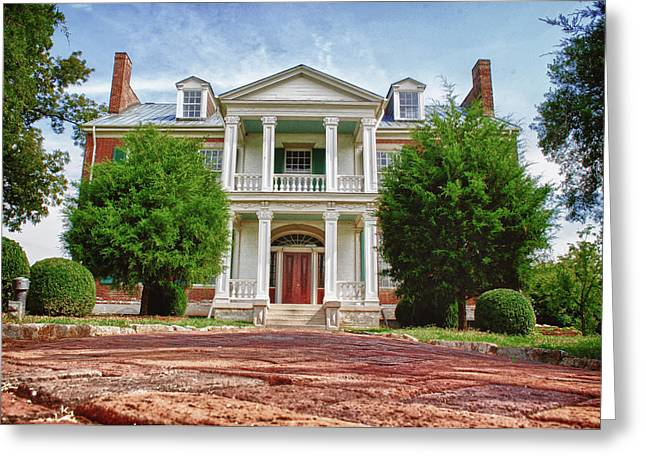 Carnton Plantation Greeting Card by Pamela Parton